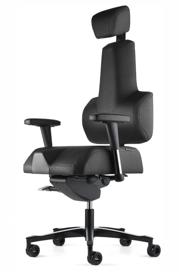 Energy Plus zdravotní kancelářská židle detailní pohled boční