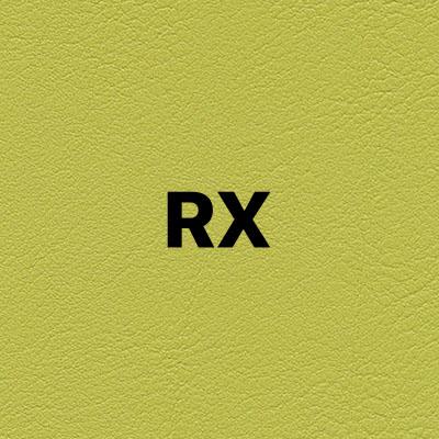 RX barva potahu