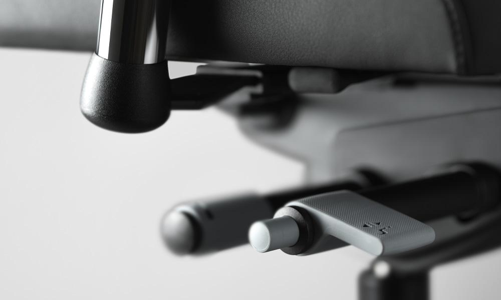 Energy Plus zdravotní kancelářská židle detailní pohled mechanika