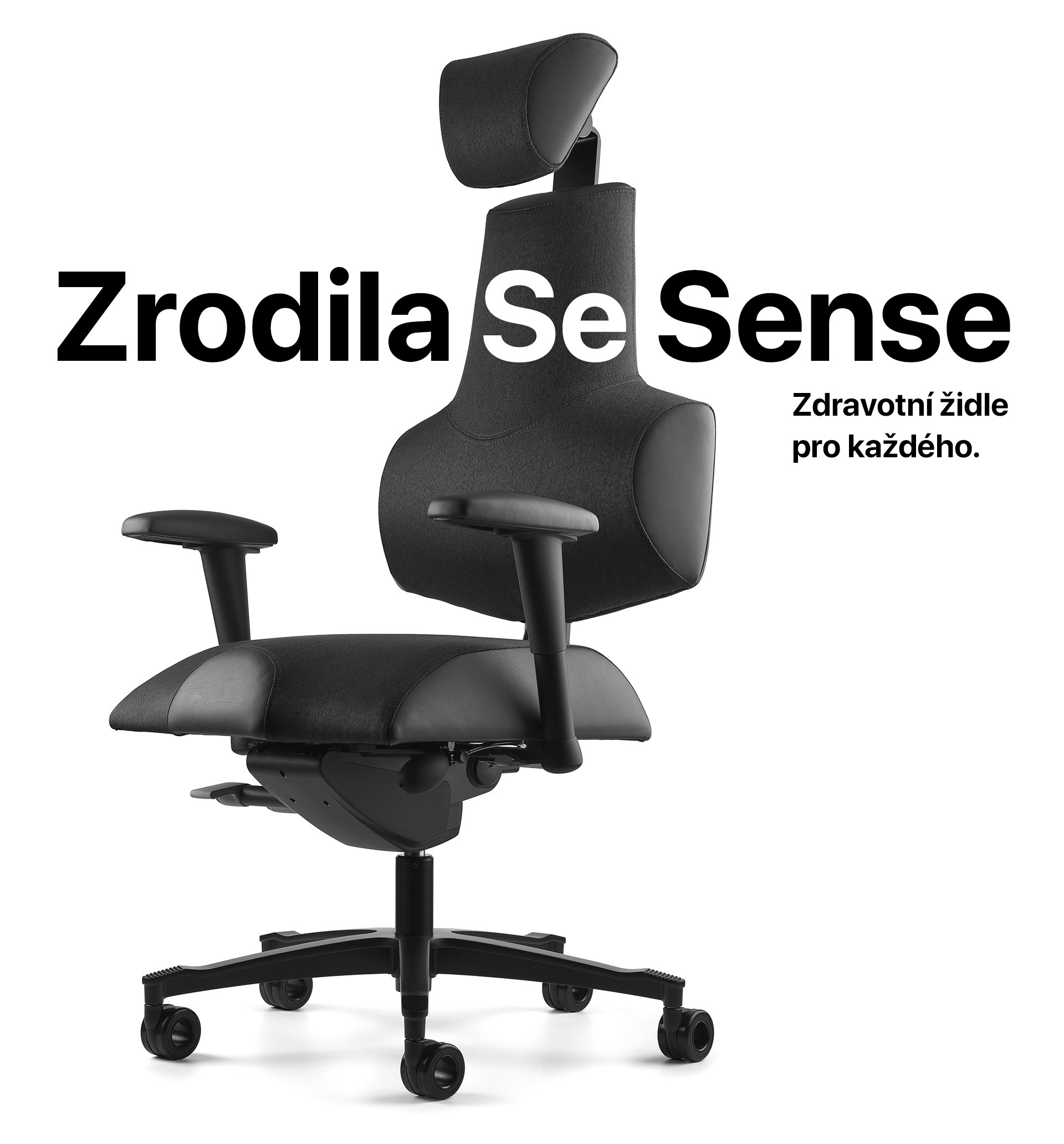 Zrodila se Sense zdravotní židle pro každého