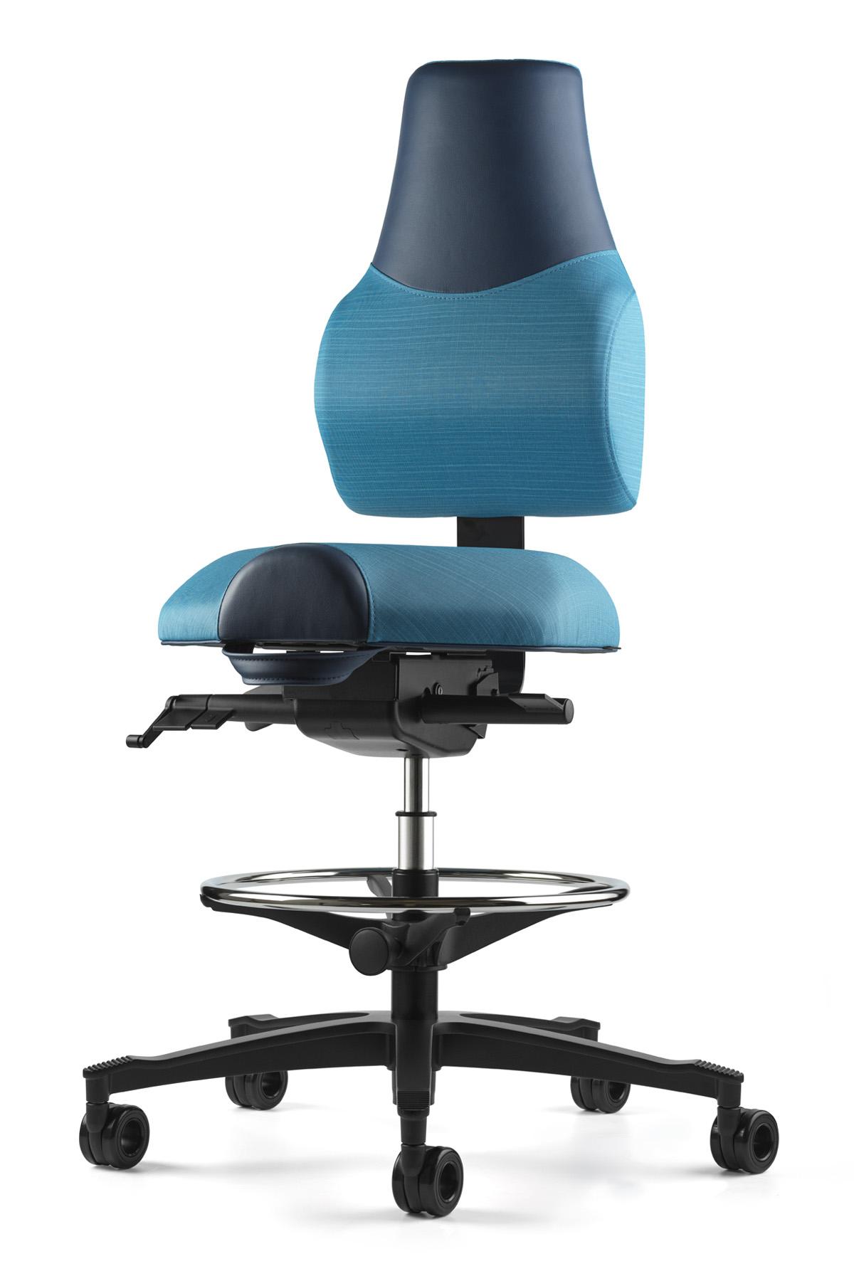 Ergonomická zdravotní židle Standi zvýšená