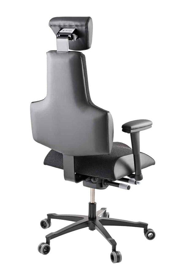 Speciální ergonomické dispečerské křeslo Sense 24/7 - zadní pohled